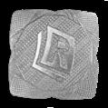 Aufkleber – Quadrat ø38 mm