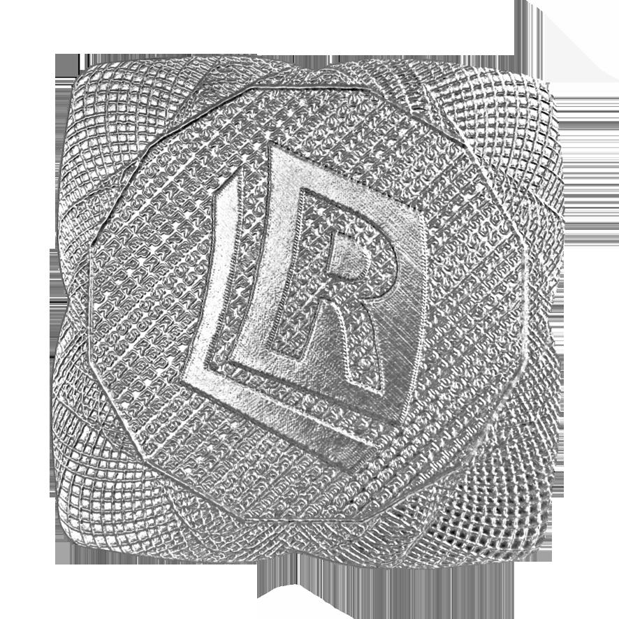Samolepka - Čtverec ø38 mm