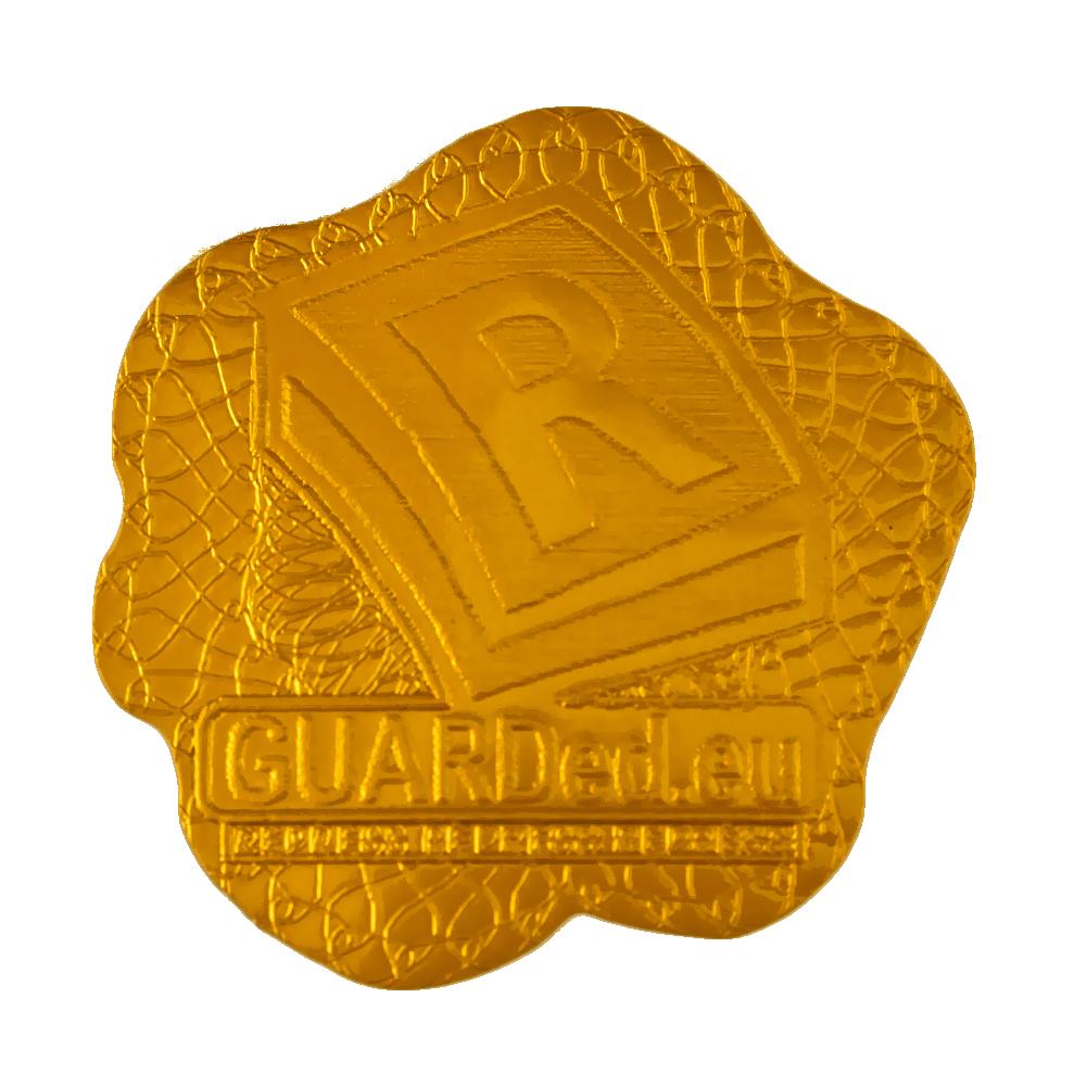 наклейка - Печатьø16 мм