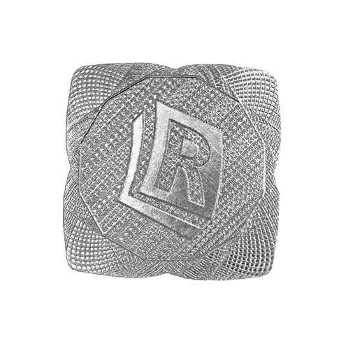 Sticker - Square ø38 mm